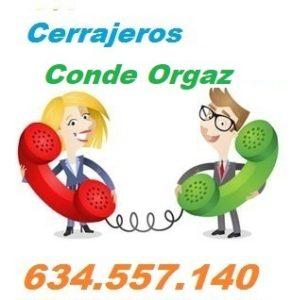 Telefono de la empresa cerrajeros Conde Orgaz